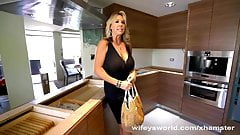 Busty MILF Next Door Sucks Off Contractor