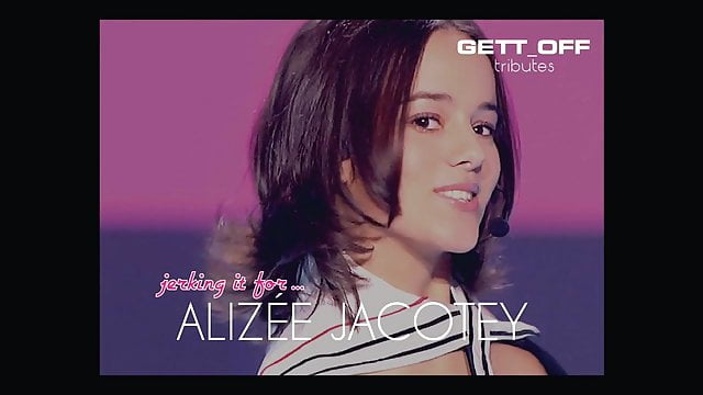 Preview 1 of Jerking It For... Alizee Jacotey