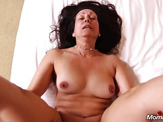 Preview 4 of Old Granny Slut loves Sucking Young Cock POV