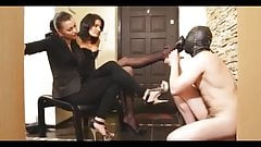 doormat for 2 mistresses