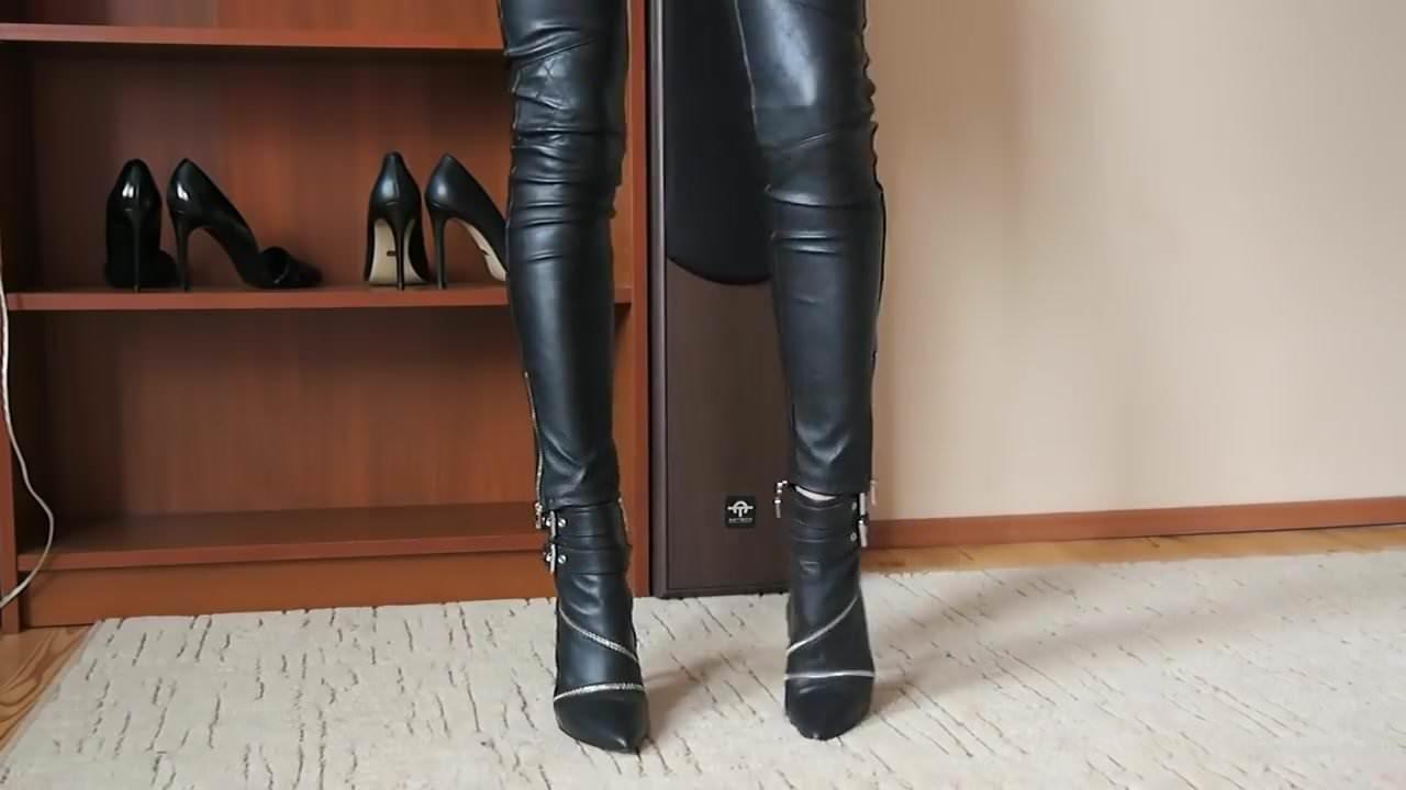 Lady amelia highheels shoes change - 3 part 5