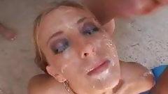 Krysta Lynn anal & facials