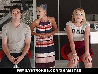 Familystrokes Scavenger Hunt With Sis Turns Sexual