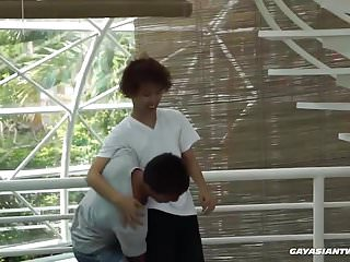 Preview 1 of Asian Boys Argie and Chi Barebacking