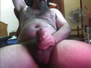 BIG HAIRY BEARDED BEAR FAT UNCUT DICK