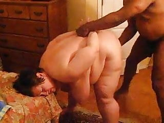 2 Black Guys 1 BBW Granny