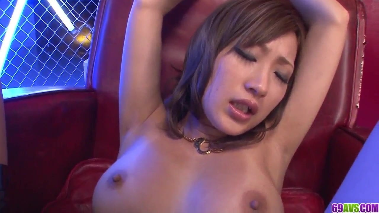 Naked Aika fucked blind folded and jizzed on tits – More at