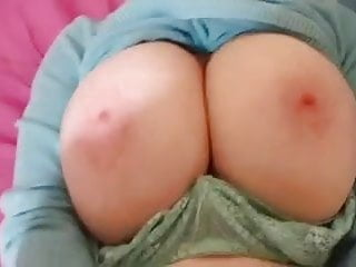 67 YEAR OLD COUGAR TITS BOUNCING WHILE 29 YEAR OLD CUB FUCKS