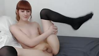 Adorable 21 year old shaved smooth