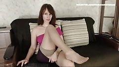 WM 510 Milf suntan Nylons Legs & Feet
