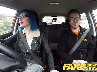 Preview 2 of Fake Driving School Anal Sex in POV Glory