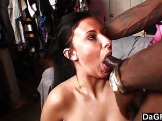 Unloading On Huge Natural Tits