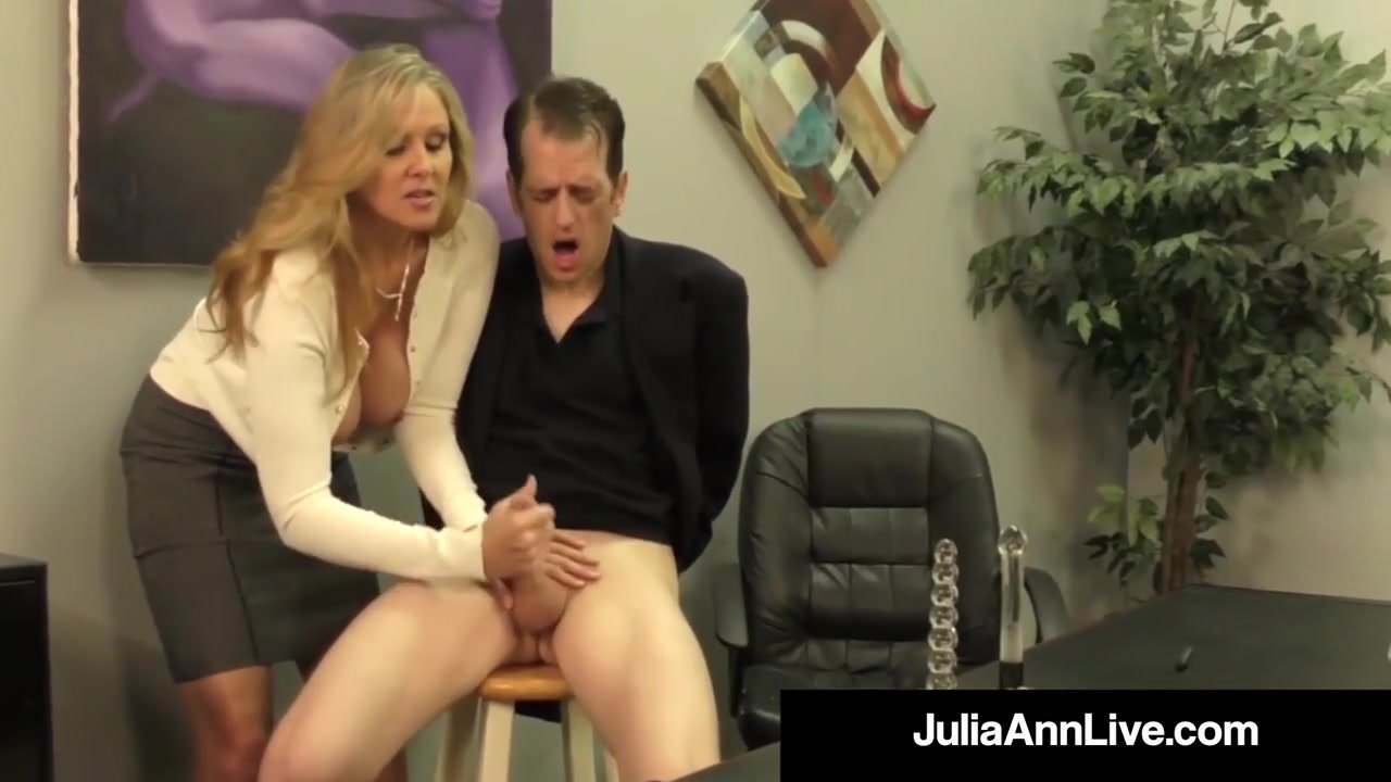 Free download & watch adult award winner julia ann drains a cock with hot handjob         porn movies