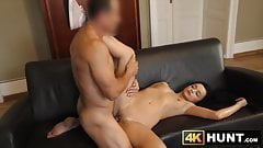 Young babe earns money for boyfriend by fucking a stranger