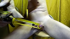 self-piercing needles in balls with diffuser modified glue