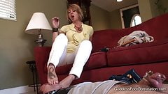 Goddess Foot Domination September Copulation 1