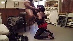 Black cock sucking slut