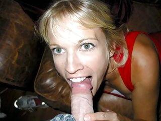 Very Hot Slut Blonde Wife - compilation.