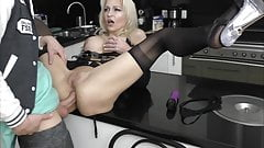 Milf testing Young Boy for Analsex