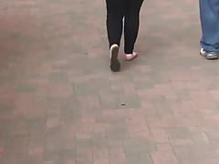Big Booty PAWG caught walking super thick candid