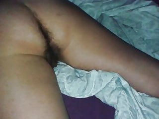 Hairy Dreaming Milf's Pussy and Ass - Spy