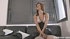 Ella Kross:Facesitting and Cock Punishment