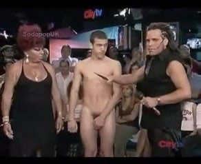 naked on tv Strip