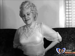 Kute Kitty 1950s Erotica Striptease Vintagepornbay