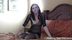 Suck this cock good you little bisexual slut