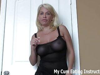 Eat your cum for the girl next door JOI