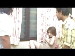 Sexy Nepali Model Fucked Hard By Two Guys