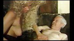 She milking grandpa (Vintage)