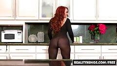 Janet Mason Levi Cash - Sexy Back In Black - Reality Kings