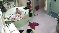Big Brother NL Hot Blonde Teen  girl nude bathing