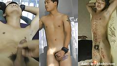 Big Cock Asian Guy Bound Cum