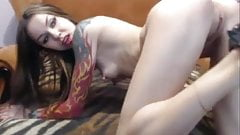 Another ROSALEEN video , Long nipples and tattoos