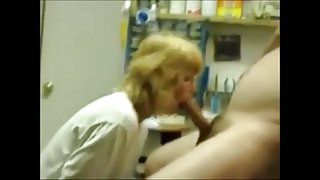 Blowjob In The Workshop