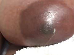 Ebony Tit Nipple Oozing