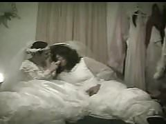 Lesbian Dildo Brides Carolyn & Sexy Desiree Honeymoon Night