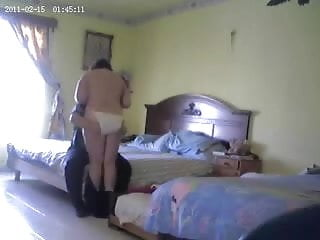 Caught myslut mum fucking with boyfriend