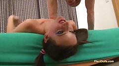 deep gagging with my flexi doll