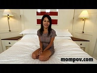 Cute latina mom gets fucked on video