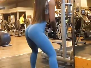 Hot Girl In The Gym