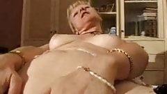 french shaved blonde granny pt7
