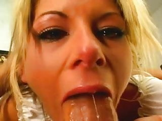 Courtney Simpson Throat Gagging Compilation