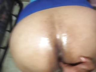 Thick Granny Standing Squirt