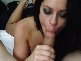 hot wife hotel suck while husband waits at home