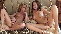 Yanks Lesbians Janessa Jordan & Jewles Masturbates