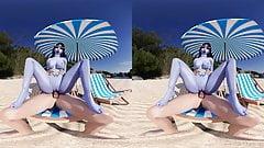 Widowmakers Beach Fun - virtual reality porn videos
