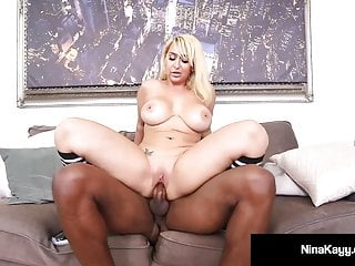 PAWG Nina Kayy Fucks Big Black Cock BasketBall Coach!